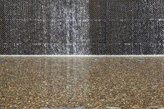 Mur de caractéristique de l'eau image stock
