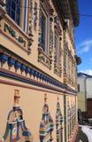 Mur de cathédrale de Peter et de Paul à Kazan. Image libre de droits