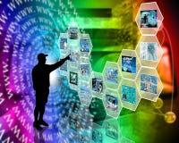 Mur de cellule Images libres de droits