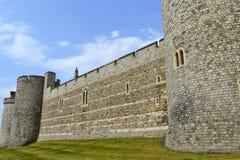 Mur de château de Windsor Photographie stock