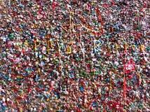 Mur de chewing-gum Image libre de droits