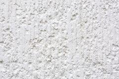 Mur de ciment blanc Fond grunge abstrait de texture photographie stock libre de droits