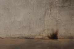 Mur de ciment, fond, mur lisse images stock