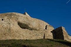 Mur de citadelle de Rupea Photographie stock