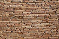 Mur de construction de grès Image libre de droits