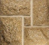 Mur de coquina naturel Photos stock