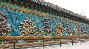 Mur de dragon Photographie stock libre de droits