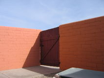 Mur de désert Image libre de droits