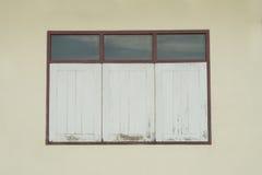 mur de fenêtre Images libres de droits