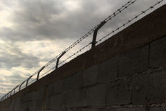 Mur de fil image libre de droits