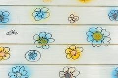 Mur de fleur photographie stock libre de droits