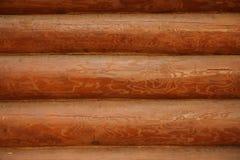 Mur de fond d'une maison en bois Images stock