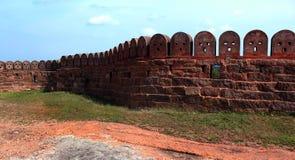 Mur de fort avec le ciel Photo stock