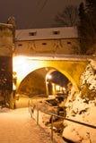 Mur de fortification de Brasov, Transylvanie, Roumanie Image libre de droits