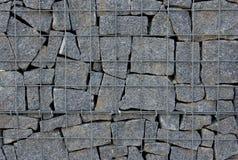 Mur de Gabion Photos stock