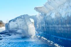 Mur de glace. Images stock