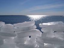 Mur de glace Image libre de droits
