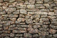 Mur de gomme Photographie stock