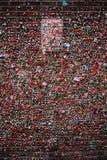 Mur de gomme sans le signe de stationnement photographie stock