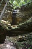 Mur de gorge en Ohio image libre de droits