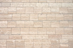 Mur de granit de Brown Photo stock