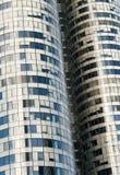 Mur de gratte-ciel Photographie stock