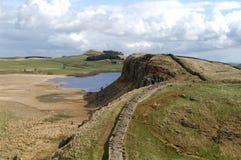 Mur de Hadrians Photos libres de droits