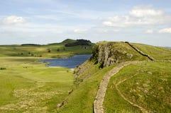 Mur de Hadrians Photo stock