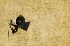mur de haut-parleur Photos libres de droits