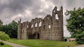 Mur de Jelous de maison de belvédère, Irlande image stock