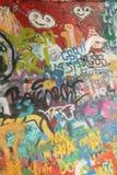 Mur de John Lennon photo libre de droits