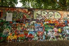 Mur de John Lennon Photographie stock libre de droits