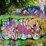Mur de John Lennon Photo stock