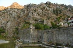 Mur de Kotor Photo libre de droits