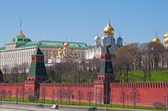 Mur de Kremlin Images libres de droits