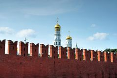 Mur de Kremlin Image libre de droits