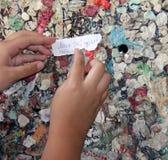 Mur de l'amour à Vérone Images libres de droits