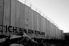Mur de la Cisjordanie photographie stock