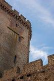Mur de la défense de château Photos libres de droits