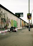 Mur de la RDA image stock