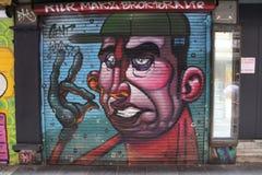 Mur de la rue art images stock