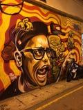 Mur de la rue art Images libres de droits