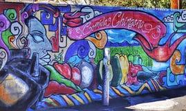Mur de la rue art Image stock