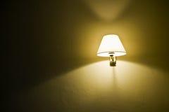 mur de lampe Photo libre de droits