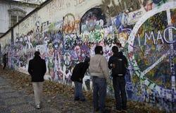 Mur de Lennon Image stock