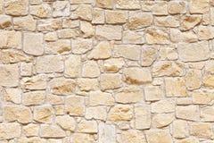 Mur de lumière, grès jaune fond d'image, texture image stock