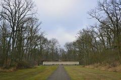 Mur de mémoire de site d'exécution Photos libres de droits