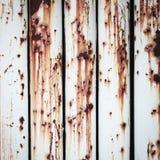 Mur de métal rustique Image libre de droits