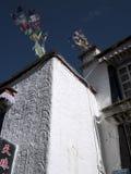 Mur de maison tibétaine Images stock