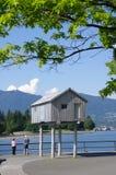 Mur de mer de Vancouver Images libres de droits